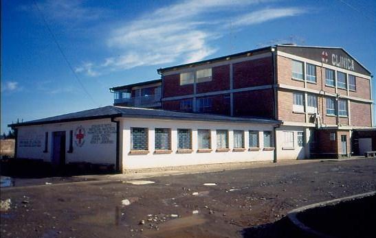 1. Ausbaustufe des Krankenhauses 1994